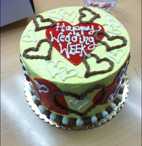 Wedding Week Cake